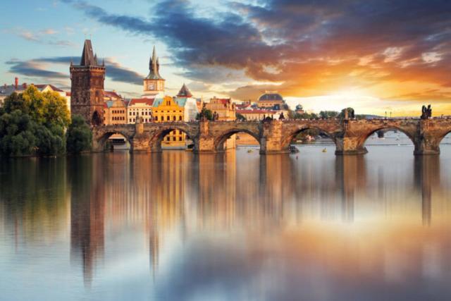Prague - capital city of Czech republic